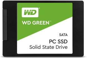 """Фото 1/3 WDS240G2G0A, Твердотельный накопитель SSD WD Green 3D NAND WDS240G2G0A 240ГБ 2,5"""" SATA-III (TLC)"""