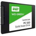 """Фото 2/3 WDS240G2G0A, Твердотельный накопитель SSD WD Green 3D NAND WDS240G2G0A 240ГБ 2,5"""" SATA-III (TLC)"""