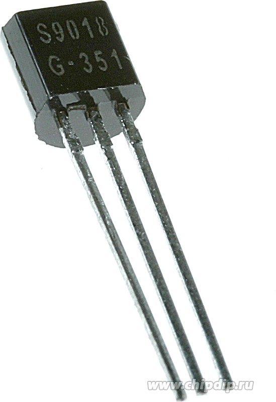 KTC9018 (C9018), Транзистор NPN 40В 20мА 625мВт 800МГц [TO-92 ...