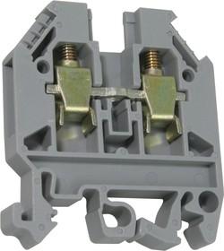 ATB-6, Клемма силовая, на DIN-рейку 6мм2 (44A 750VAC)