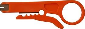 Фото 1/2 12-4231 (CT-322), Инструмент для заделки и обрезки витой пары