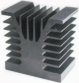 HS 155-50, Радиатор 50х80х80 мм, 2.7 дюйм*градус/Вт