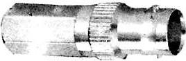 HYR-0129B (BNC-7030B) (GB-129), Разъем BNC, гнездо, RG-59, вкручивающийся (Twist-on)