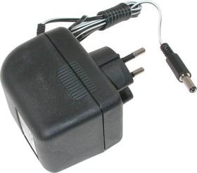 БПС 24-0.3 (штекер 5.5х2.1, А), Блок питания стабилизированный, 24В, 0.3А,7Вт (адаптер)