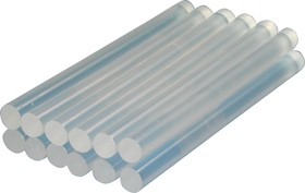 Фото 1/2 Клеевые стержни (LC-101M, белые, 12шт, d=7мм)