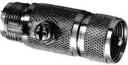 HYR-0618 (UHF-7516) (GU-618), Штекер - UHF гнездо, переходник