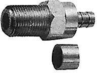 HYR-0811C (GF-811C) (F-7225C), Разъем F, гнездо, RG-6, обжим (Crimp)