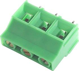 DG950-03 (EK950V-03P), Клеммник 3-контактный, 9.52мм