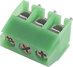 KLS2-350-3.50-03P-4S (ED350V-03P), Клеммник, 3-контактный, 3.5мм