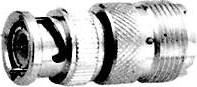 HYR-0140 (BNC-7060) (GB-140), Штекер - UHF гнездо, переходник