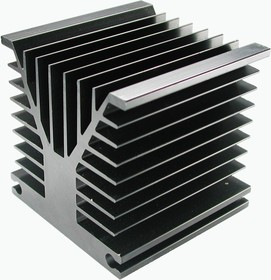HS 155-100, Радиатор 100х80х80 мм, 2.7 дюйм*градус/Вт