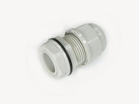 MGB20M-08G, Ввод кабельный, полиамид, серый