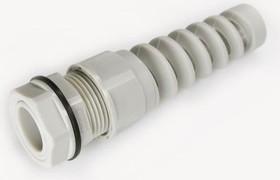 MGB20MP-11G, Ввод кабельный, полиамид, серый