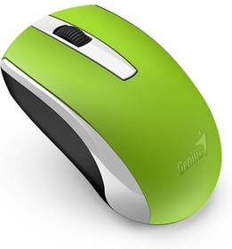 Фото 1/2 31030004404, Мышь Genius беспроводная ECO-8100 зеленая (Green)