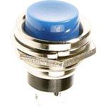 PBS26B (синяя), Кнопка OFF-(ON) (1.5A 250VAC)