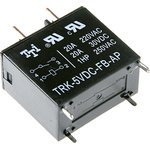 TRK-5VDC-FB-AP, Реле 1зам. 5V / 20A, 277VAC