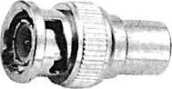 HYR-0162 (BNC-7053) (GB-162), Переходник, BNC штекер - TV штекер