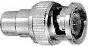 Фото 1/4 HYR-0146 (BNC-7056) (GB-146) (BNCP-RCAJ), Переходник, BNC штекер - RCA гнездо