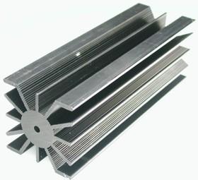 HS 136-150, Радиатор 150х50х50 мм, 7.9 дюйм*градус/Вт