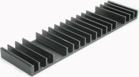 HS 530-50, Радиатор 50х190х12.5 мм, 2.4 дюйм*градус/Вт