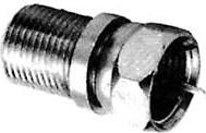 HYR-0825 (F-7235) (GF-825), Штекер - F гнездо, переходник