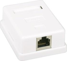HCT-200 (FD-6165B), Розетка 8P8C (RJ45) компьютерная одинарная экранированная 5cat (OBSOLETE)