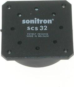 SCS-32P10, 32 мм, Пьезодинамик