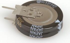 EECS5R5V474, 0.470 Ф, 5.5 В, 5 мм, 1905V, Ионистор
