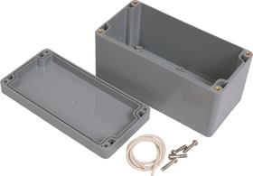 G369, Корпус для РЭА 160х80х85 мм, пластик, темно-серый