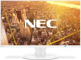 Фото 1/2 E271N white, Монитор жидкокристаллический NEC Монитор LCD 27'' [16:9] 1920х1080(FHD) IPS, nonGLARE, 250cd/m2, H17