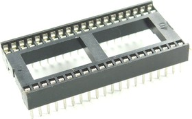 ICSS-40 (DS1010-40N), DIP панель 40-контактная шаг 1.778мм широкая