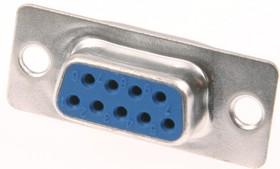 Фото 1/6 DB-9F (DS1033-09F), Гнездо 9 pin на кабель (пайка)