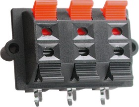 PT-603-03, Клеммник нажимной 6 контактов