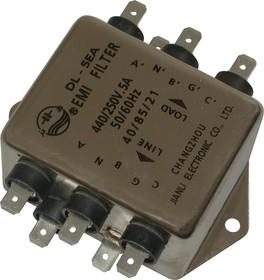 DL-5EA, 5А, Трехфазный сетевой фильтр
