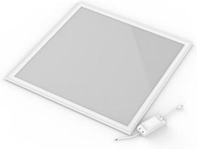 Фото 1/3 Светильник светодиодный 595х595х7.2 36Вт 2880лм 6500К IP40 панель ультратонкая с драйвером (аналог ЛВО) Gauss 145024336
