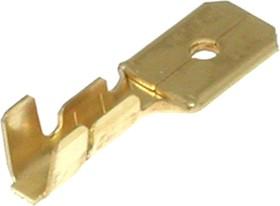 36155LB, Клемма ножевая 0.8x6.4мм, вилка, провод 16-20AWG