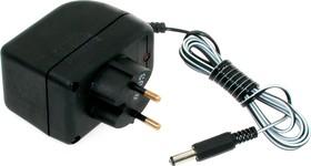 БПН 9-0.8 (штекер 5.5х2.5, А), Блок питания нестабилизированный, 9В,0.8А,7Вт (адаптер)