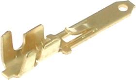 Фото 1/2 36067LB, Клемма ножевая 0.5x2.8мм, вилка, провод 18-20AWG