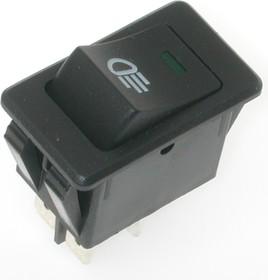 ASW-17D (зелёная подсветка), Переключатель ON-OFF (35A 12VDC) DPST 4P