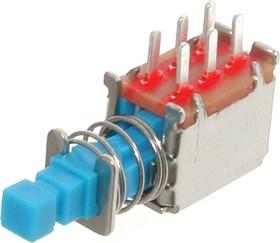 PS-22F13 (B4003), Переключатель кнопочный без фиксации (0.5A 50VDC)