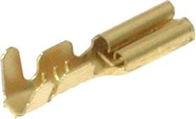 36054LB, Клемма ножевая 0.5x2.8мм, розетка, провод 18-20AWG