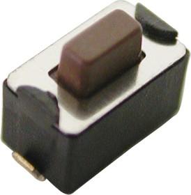 Фото 1/2 L-KLS7-TS3608-5.0-180-T, кнопка тактовая SMD h=5.0мм (аналог IT-1101NHA)
