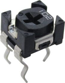 Фото 1/2 SH-655MCL, 1 кОм, Резистор подстроечный