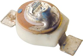 CTC 038-10RSM, 1.8-10 пФ, d=4 мм, SMD, Конденсатор подстроечный