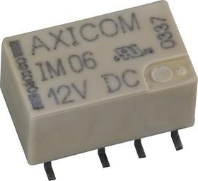 2-1462037-3 (IM06GR), Реле 12VDC 2пер. 2А/250VAC SMD