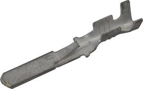 160887-4 (36067LB), Клемма ножевая 2.8мм, штекер, провод 0.5-1.0 (контакт для вилки FASTIN-FASTON 2.8)