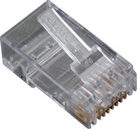 5-557315-3, Вилка сетевая TP8P8C (RJ45) CAT.3 для одножильного провода (OBSOLETE)