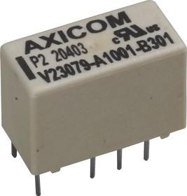 Фото 1/3 1393788-3 (V23079A1001B301), Реле 5VDC 2пер. 2А/250VAC