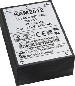 KAM1512, AC/DC преобразователь, 12В,1.25А,15Вт
