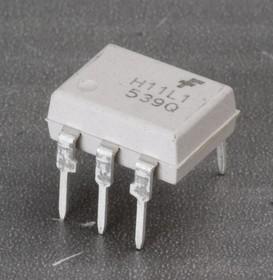 Фото 1/2 H11L1M, Оптопара с выходом на триггере Шмитта [DIP-6]